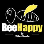 BeeHappy by Felix - Logo weiß freigestellt