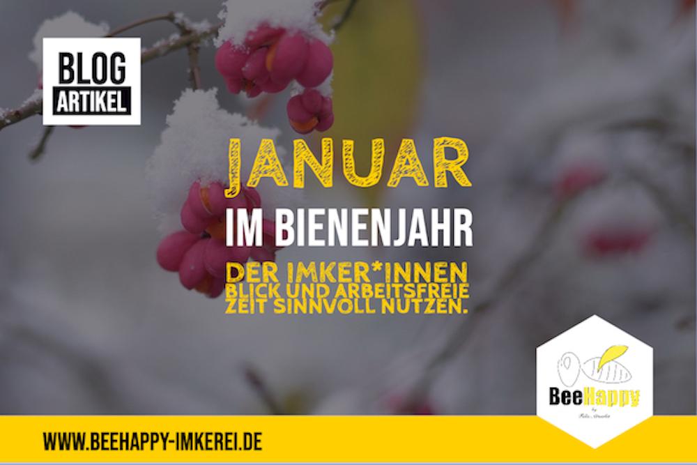 Januar Bienenjahr